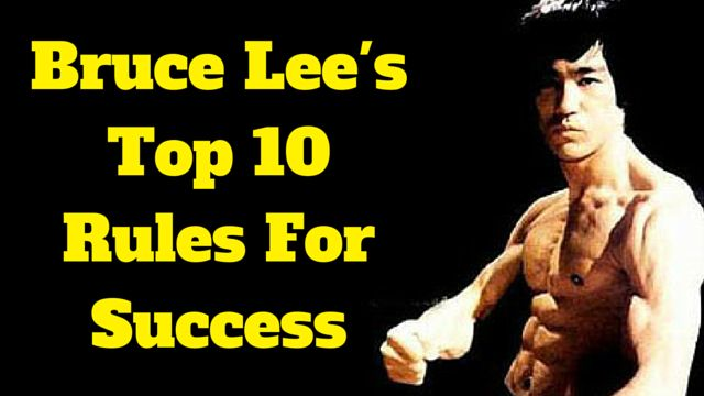 Bruce Lee's Top 10 Rules For #Success: http://brandonline.michaelkidzinski.ws/bruce-lees-top-10-rules-for-success/