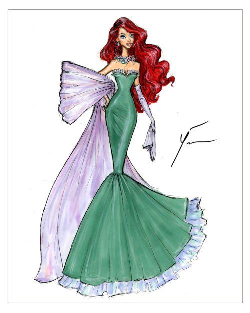 Disney Princesses 'Ariel' by Yigit Ozcakmak