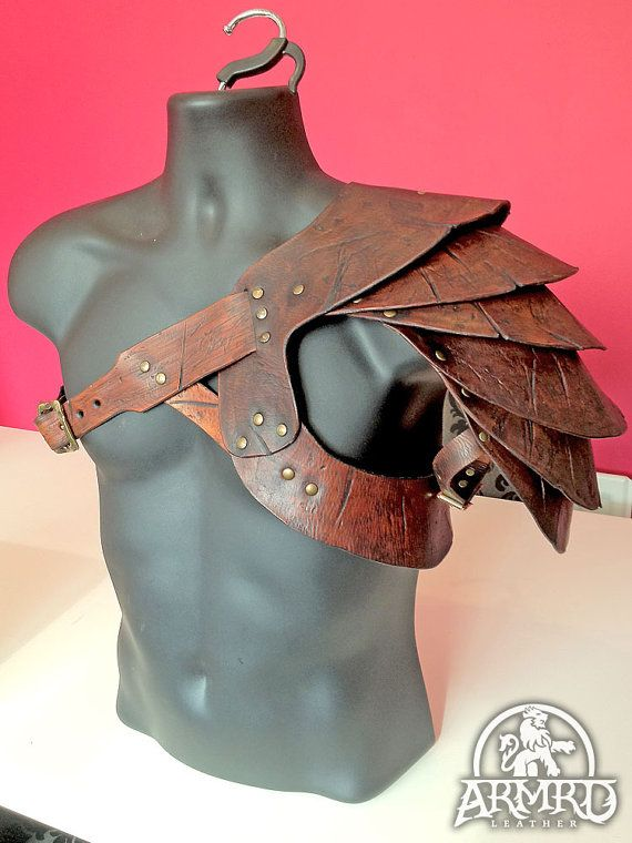 Gladiator Shoulder Armour  Spartacus Replica by armrd on Etsy, $190.00