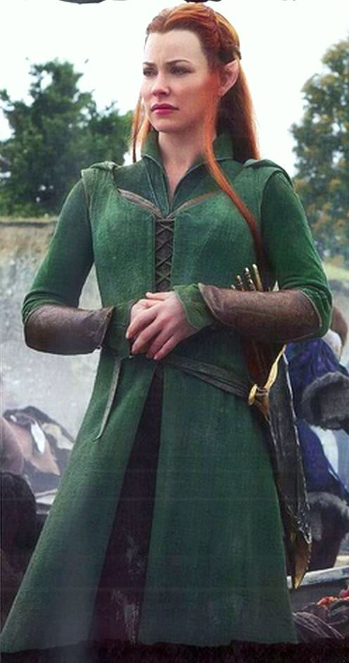 In BotFA. This has great detail in her costume!