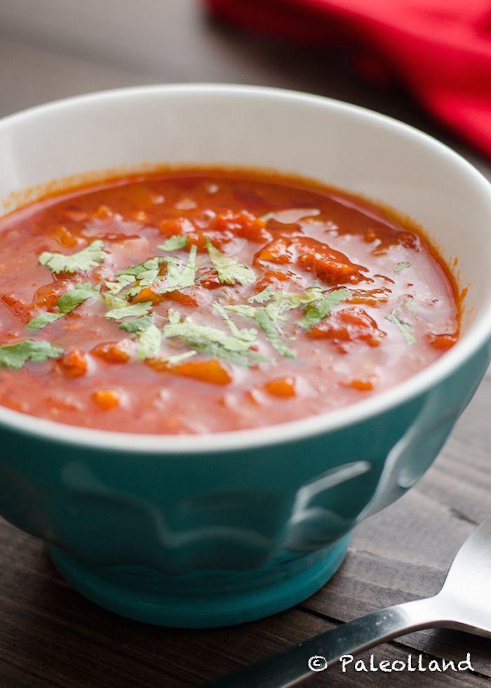 Pittige paleo chorizo soep