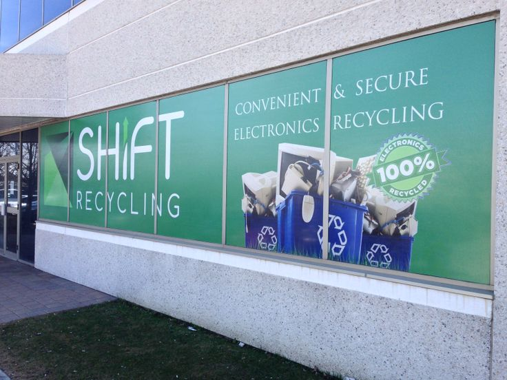 Full colour window graphics with perforated vinyl. #windowgraphics #signstoronto #storefrontsigns