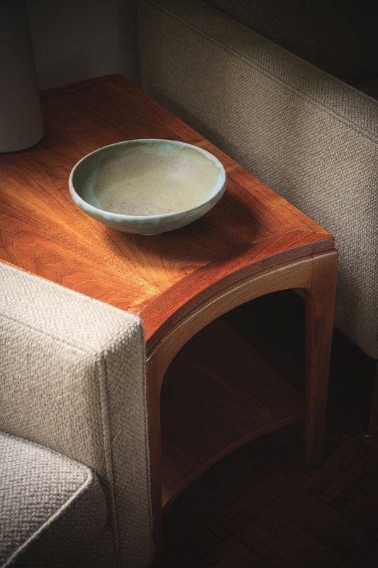 Lane Rhythm Wedge Side Table