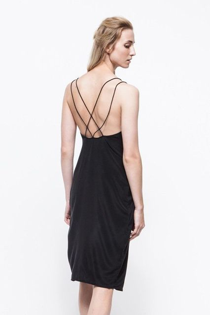 11 Open-Back Dresses That Dare You To Defy The Cold #refinery29  http://www.refinery29.com/open-back-dresses#slide-5  Cross our hearts: This dress will turn heads.
