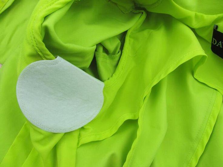 20 pcs = 10 pairs Été Déodorant Arrêter Aisselles Vêtements Robe Sweat Guard Anti Transpiration Tapis Bouclier Absorbant Aisselle Déodorant
