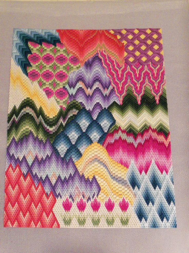 bargello needlepoint - Google Search