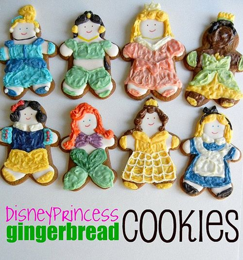 Disney Princess Cookies. Yum!