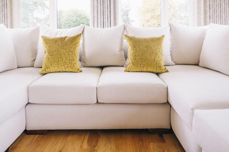 Bespoke corner unit - made by Anray Upholstery