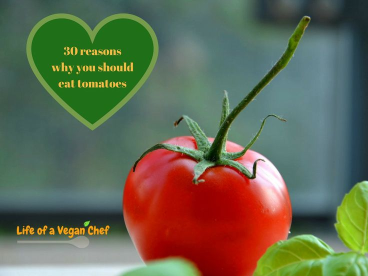 30 reasons why you should eat tomatoes.  They are not only delicious but also full of vitamins, minerals and antioxidants.   Tomatoes are essential in a plant-based diet.  However, they become more nutritious when cooked.   Check out the top 8 health benefits of tomatoes on: Life of a Vegan Chef.      #Veganism #govegan #whatveganseat #veganfood #plantbased #veganfoodshare #veganfoodporn #vegansofinstagram #veganlife #vegansofig #crueltyfree #veganlifestyle #vegans #veganeats #vegancommunity…