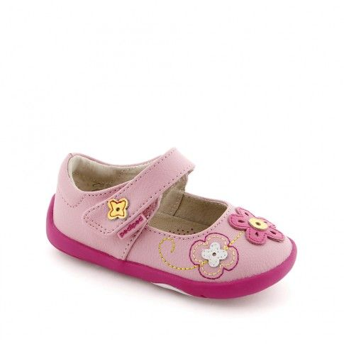 Pantofi bebelusi Lorraine Pink - pediped