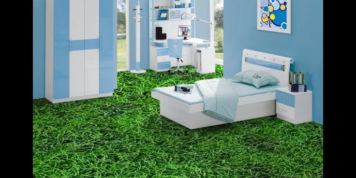 Grass Effect Vinyl Sheet Flooring