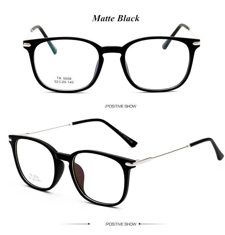TR90 Ultralight Female Grade Computer Glasses Frame Round Eyeglasses Frames for Women Men Retro Prescription Optical Eyewear Love it? Visit us