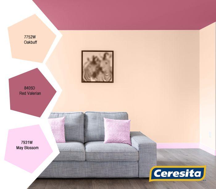 #Living #deco #decoración #Ceresita #CeresitaCL #PinturasCeresita #colores #espacio #ambiente #pinturas *Códigos de color sólo para uso referencial. Los colores podrían lucir diferentes, según calibrado de su monitor.