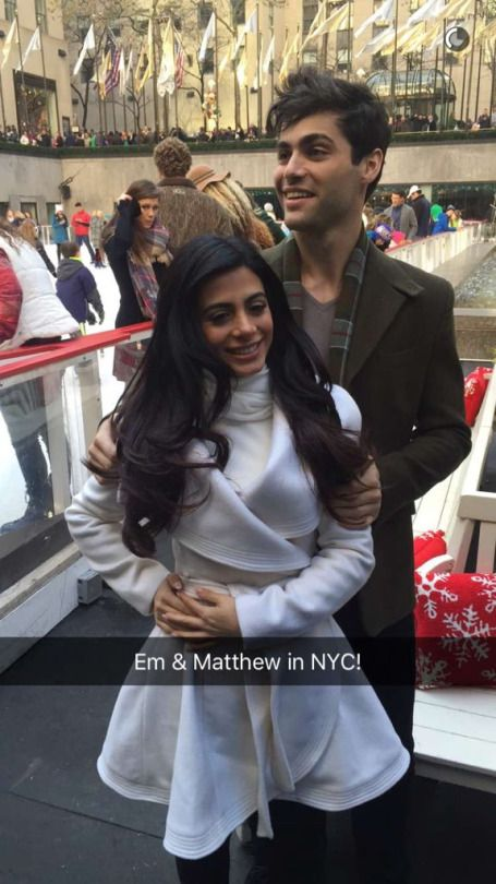 The Shadowhunters Cast at ABC Family's Winter Wonderland Event