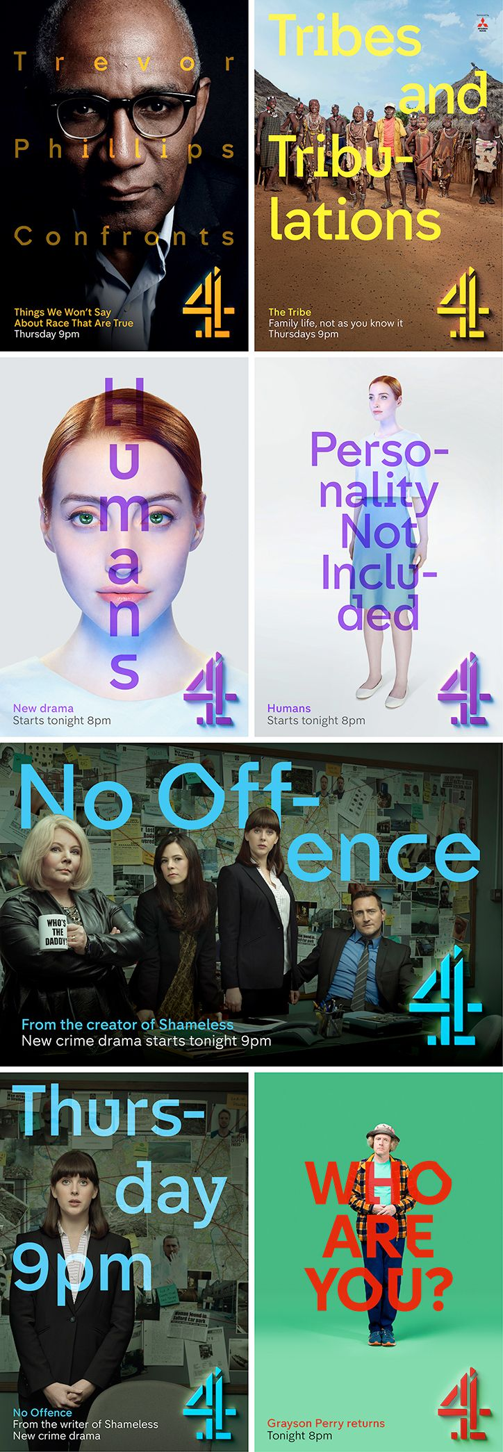 Channel 4: New identity, 4Creative, Jonathan Glazer, Neville Brody and DBLG.