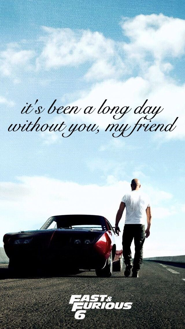 Fast Furious See You Again Lyrics Backgrounds See You Again Lyrics Fast Furious Quotes Fast And Furious Paul walker wallpaper for iphone