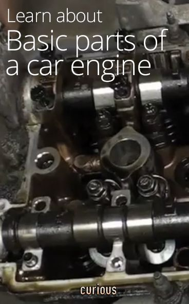 Basic Parts of a Car Engine