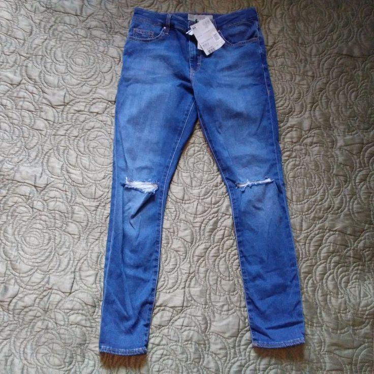 Topshop Moto Women's Leigh Super Soft Ankle Grazer Jeans Color Blue Size 28 | Clothing, Shoes & Accessories, Women's Clothing, Jeans | eBay!