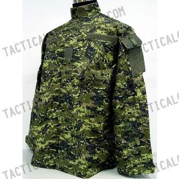 Canadian CADPAT Digital Camo Woodland BDU Uniform Set ...