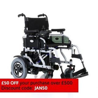 Get the versatile Travelux Corrado Suspension Electric Wheelchair from £899 at CareCo.