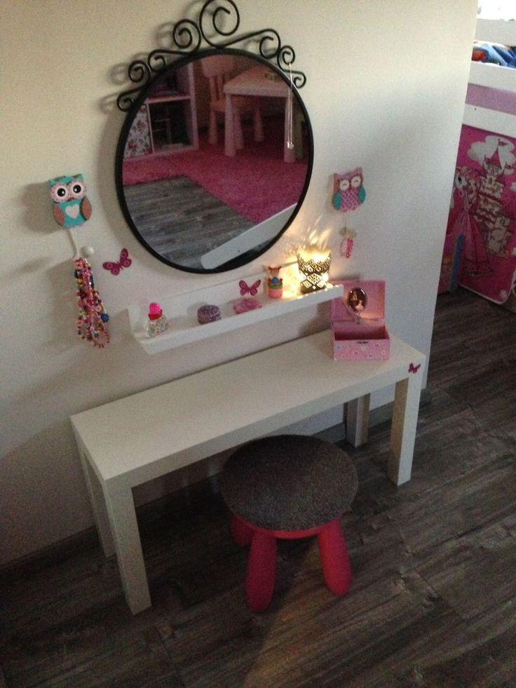 die besten 25 kinder schminktisch ideen auf pinterest spiegelschreibtisch ikea. Black Bedroom Furniture Sets. Home Design Ideas