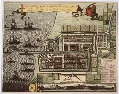 Dutch settlement Batavia.