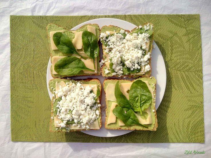 Spenótos humusz (gluténmentes, laktózmentes, tojásmentes, vegán), és a zöld melegszendvics (gluténmentes, tojásmentes) / Recept / spenót, csicseriborsó, tahini szósz, feta sajt, kemény sajt, olívaolaj, fokhagyma, citrom, diétába illő kenyér