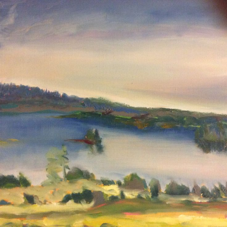 Homeland - the land of a thousand lakes II - Oil 2015/06