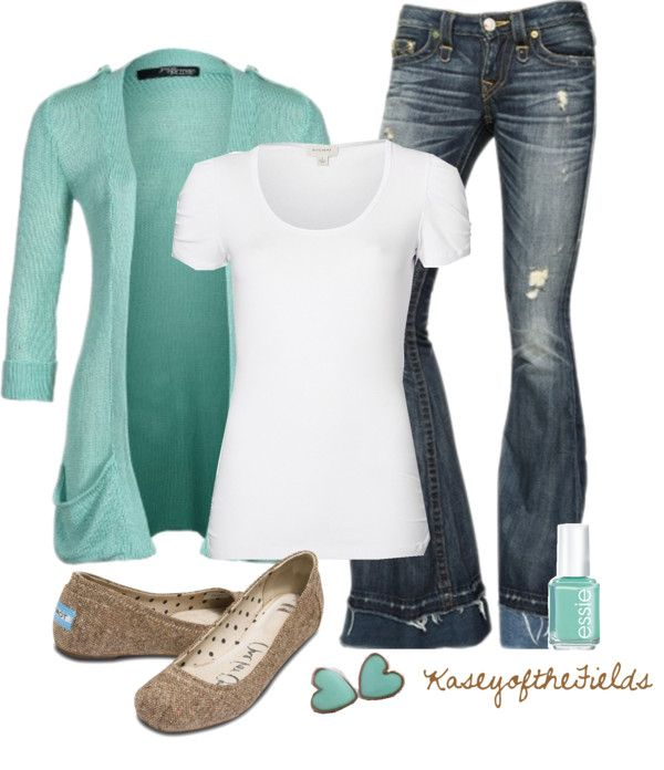 """""""Baby Blue"""" by kaseyofthefields on Polyvore"""
