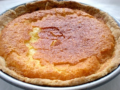 Buttermilk Chess Pie. One of our southern favorites and super easy :) Makes 2 small pies or 1 deep dish.