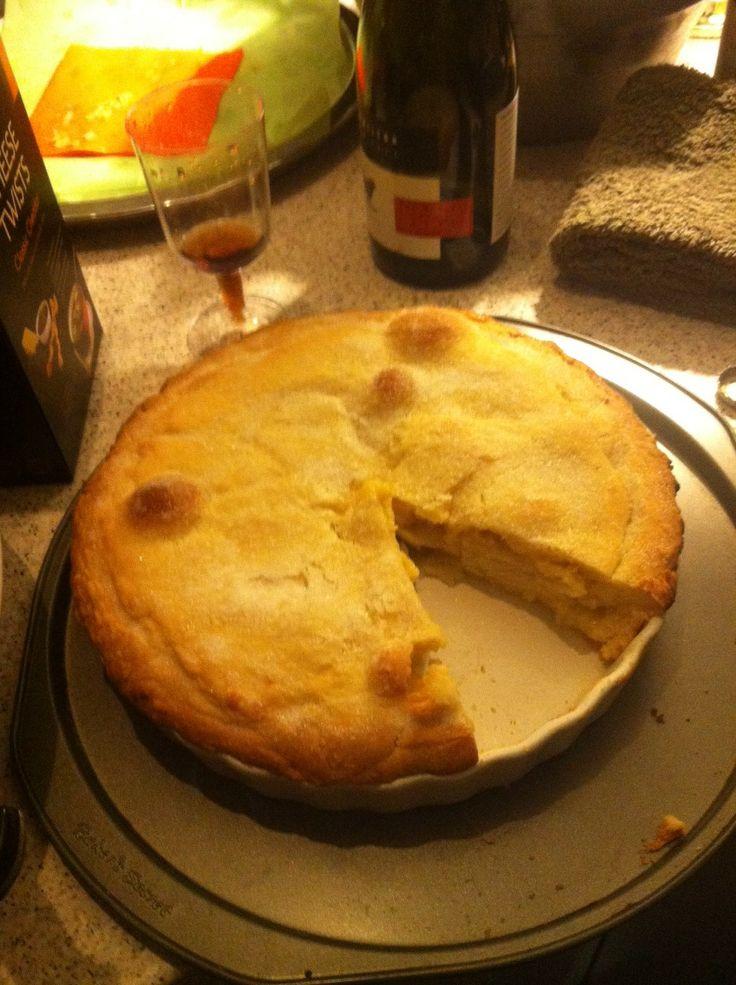 Apple and Lemon Curd Shortcake