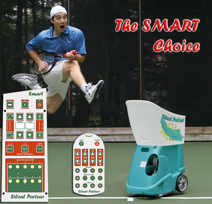"""The SMART is our top of the line machine. The SMART comes with a 22-button remote control with """"Select-A-Drill"""" programming where you can enter sequences of ball locations. The SMART offers Match Play with three programs that simulates different types of match rallies."""