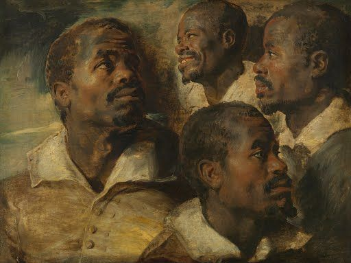 Four Studies of a Head of a Moor