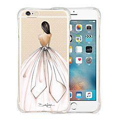 favorieten koningin zachte transparante siliconen achterkant van de behuizing voor de iPhone 6s 6 plus – EUR € 3.91