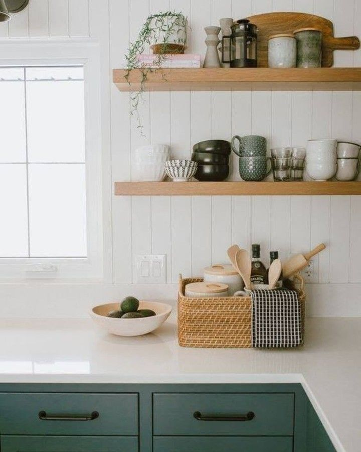 farmhouse is my style on instagram this emerald green is my new favorite color it is so rich on kitchen ideas emerald green id=84361
