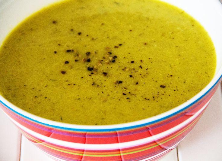 Суп – пюре из цукини