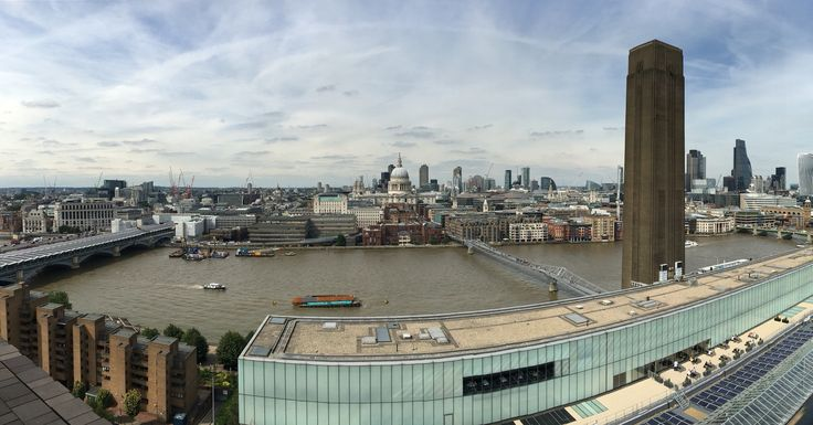 View from the Tate Switch House! Day well spent!