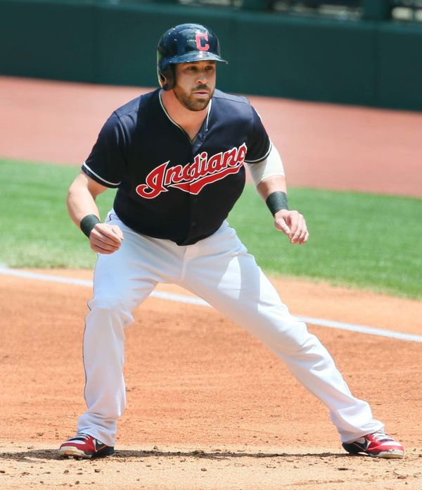 Cleveland Indians Jason Kipnis, during the game against the Minnesota Twins at Progressive Field, Cleveland, Ohio, on June 25, 2017. (Chuck Crow/The Plain Dealer).