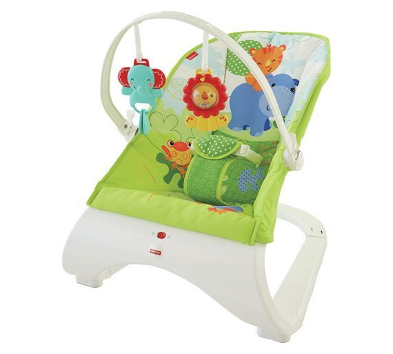 Buy Fisher-Price Rainforest Friends Comfort Curve Bouncer at Argos.co.uk - Your Online Shop for Baby bouncers, Baby bouncers and swings, Baby toys, Baby and nursery.