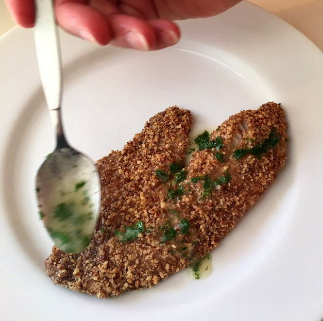 Pecan-crusted Tilapia recipe