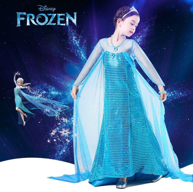 New Frozen dress anna elsa disfraz princess sofia dress infantil fever elza costume vestido rapunzel jurk disfraces clothing