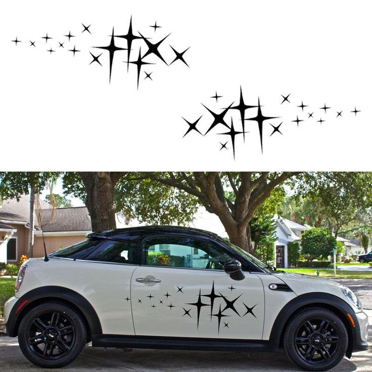 2x star graphic rv trailer truck vinyl graphics kit decals car door stickers for sale •