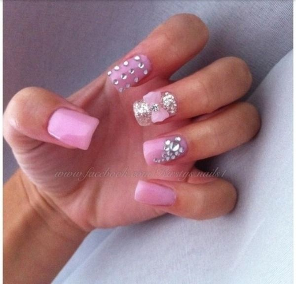 Silver Prom Nails: 13 Best Images About Nails On Pinterest
