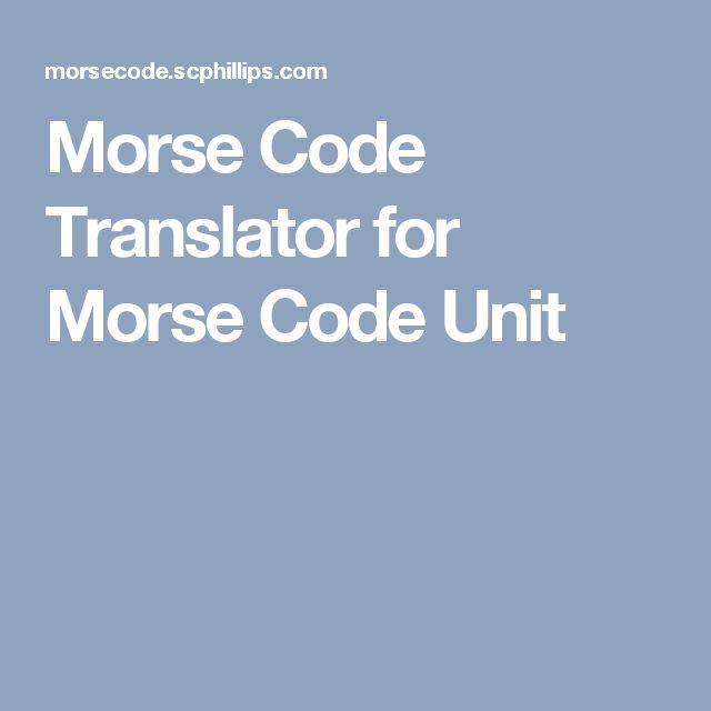 Best 25+ Morse code translator ideas on Pinterest Police radio - sample morse code chart