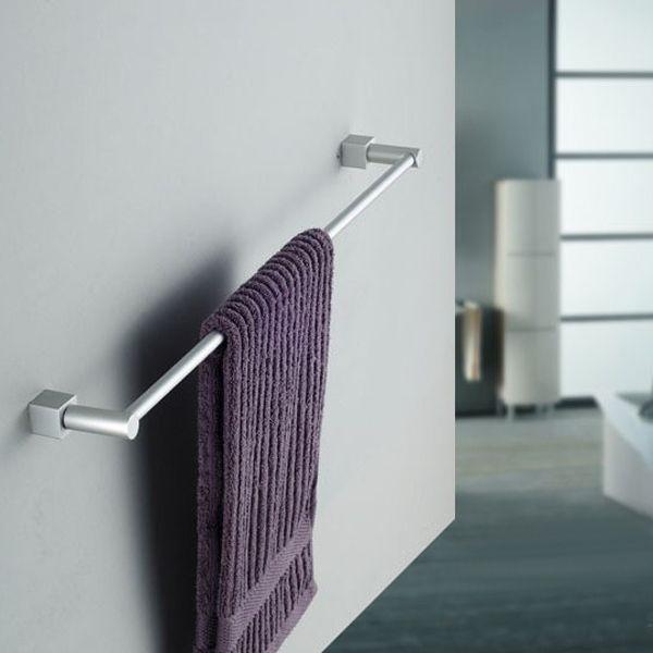 Alumimum Horizontal Bar Towel Rack Bathroom Towel Bar