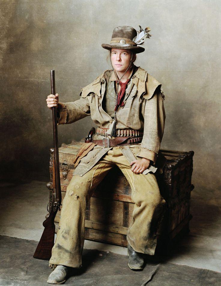 Calamity Jane (Robin Weigert) 'Deadwood' 2004-2006. Costume design by Katherine Jane Bryant.