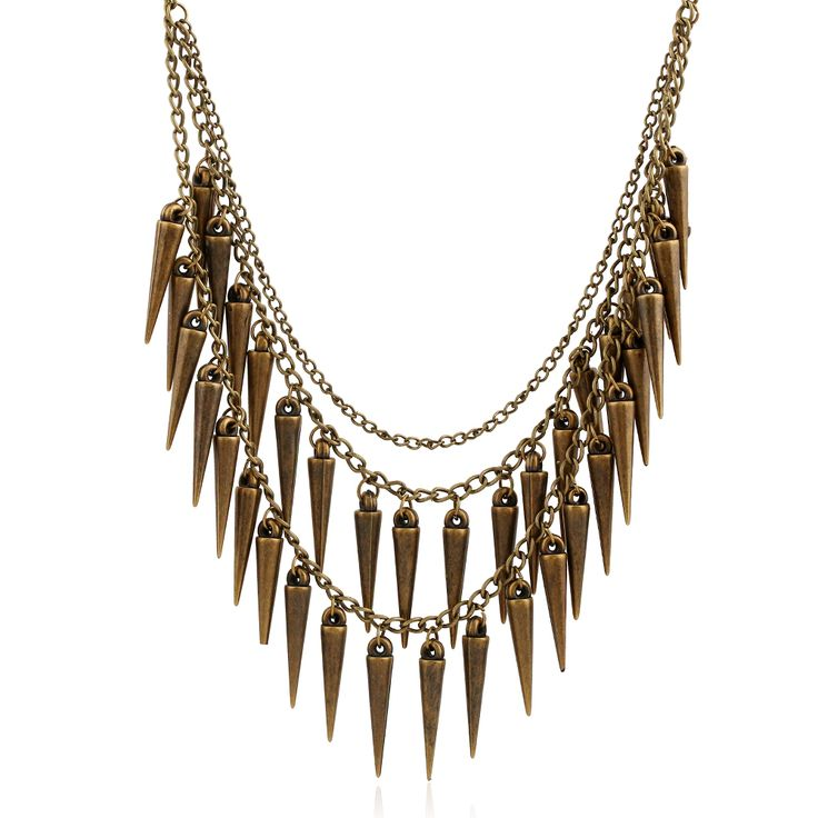 Collier Multilayer Vintage Maxi Necklace Chili Colar Bijoux Gros Collier Femme Punk Rivets Collar Mujer Cigana Kolye Necklace