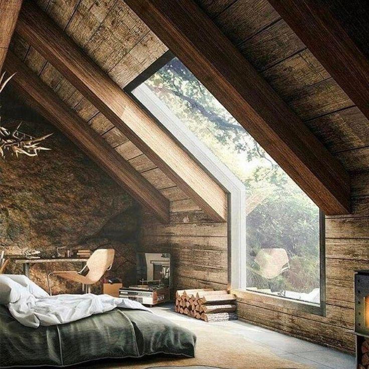 Die besten 25+ Dachfenster Schlafzimmer Ideen auf Pinterest - schlafzimmergestaltung mit dachschrage