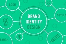 """Designing a Brand Identity ~~ One of the most interesting projects that a graphic designer can take on is designing a logo. It can be daunting (and stressful) to come up with logo options based on market research, and stumble upon some """"design magic"""" through the exploratory process. Na"""