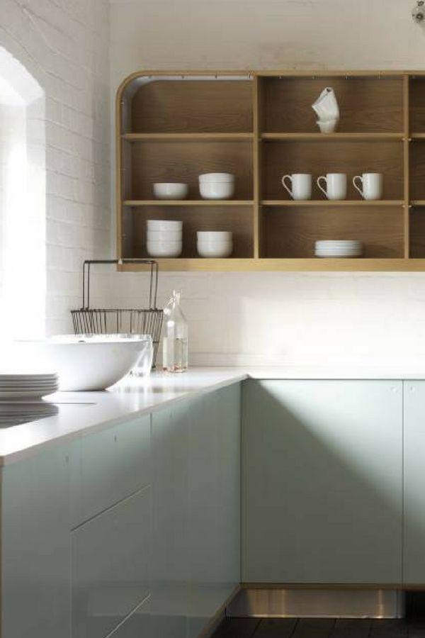 46 best Inspirierende Küchenschränke images on Pinterest - küchenschrank hochglanz weiß